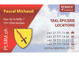Carte de Michaud Pascal
